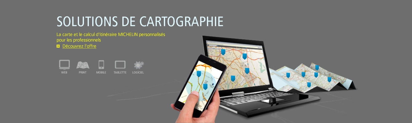 Solutions de cartographie
